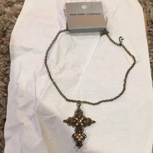 NWT necklace from New York and co